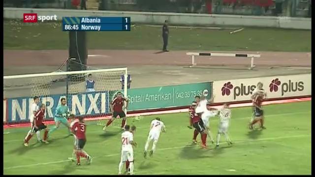 Albanien - Norwegen («sportaktuell»)
