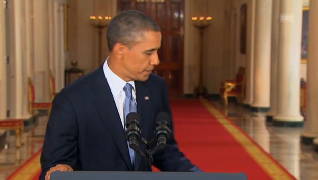 Video «Obama zu Syrien (Engl.): Schlusswort an die Nation» abspielen