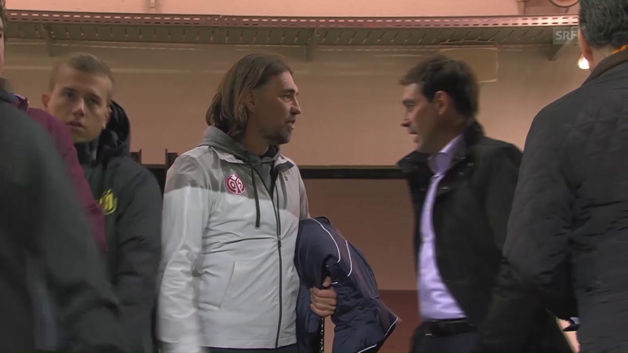 Schweizer Trainerduell bei Mainz-Anderlecht