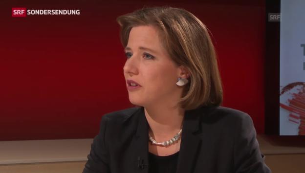 Video «Christa Markwalders Reaktion auf die Anschlagsserie» abspielen