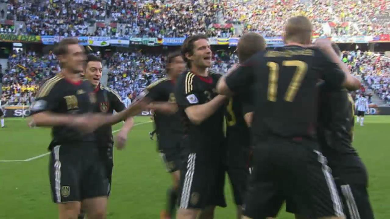 FIFA WM: Viertelfinal Argentinien - Deutschland 2010