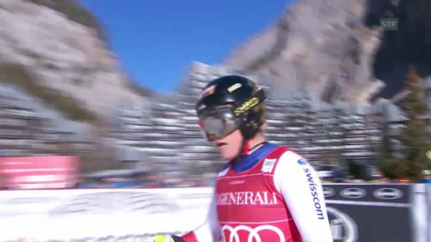 Video «Zusammenfassung des Super-G in Val d'Isère» abspielen