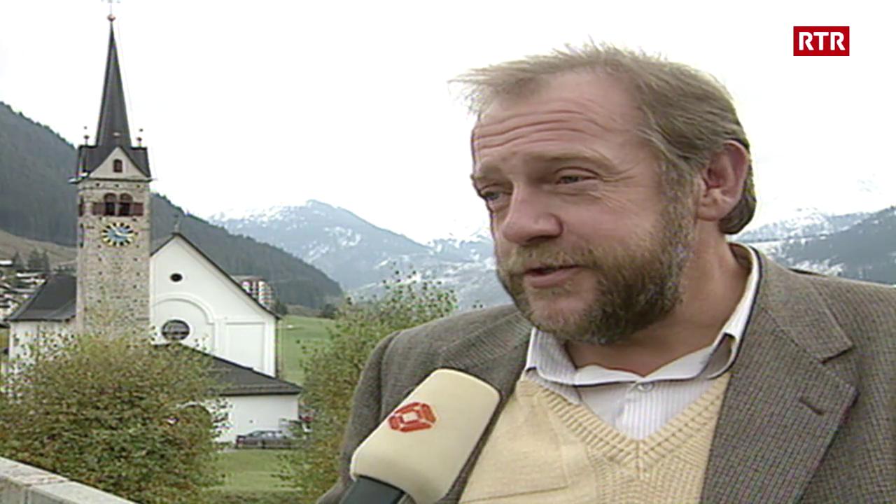 Tujetsch tranter NEAT e turissem (1992)