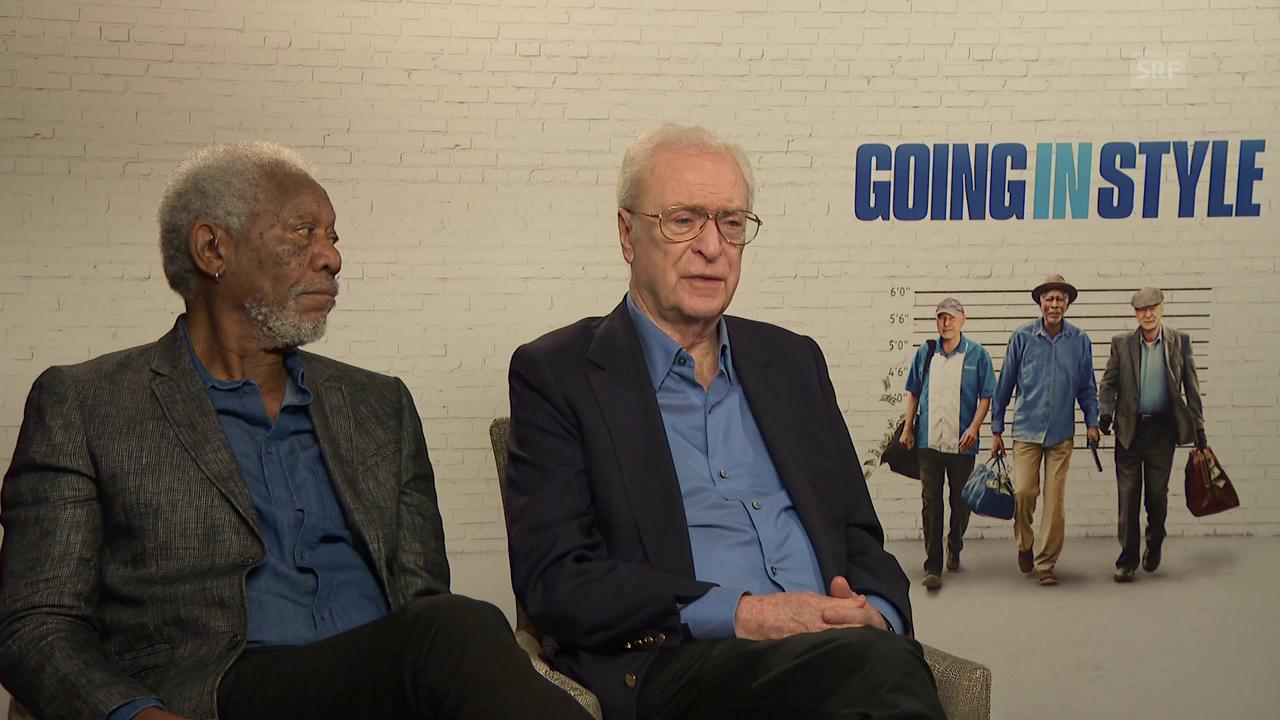 Morgan Freeman und Michael Caine, die rüstigen Hollywood-Rentner
