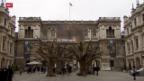Video «Der chinesische Künstler Ai Wei Wei in London» abspielen
