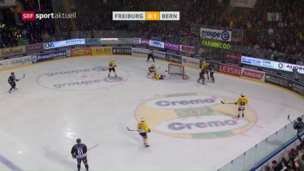 Video «Freiburg gegen Bern chancenlos» abspielen