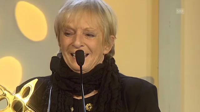 Ursula Schaeppis Tränen-Auftritt am Prix Walo 2013