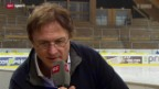 Video «NLA: Interview mit Arno Del Curto» abspielen