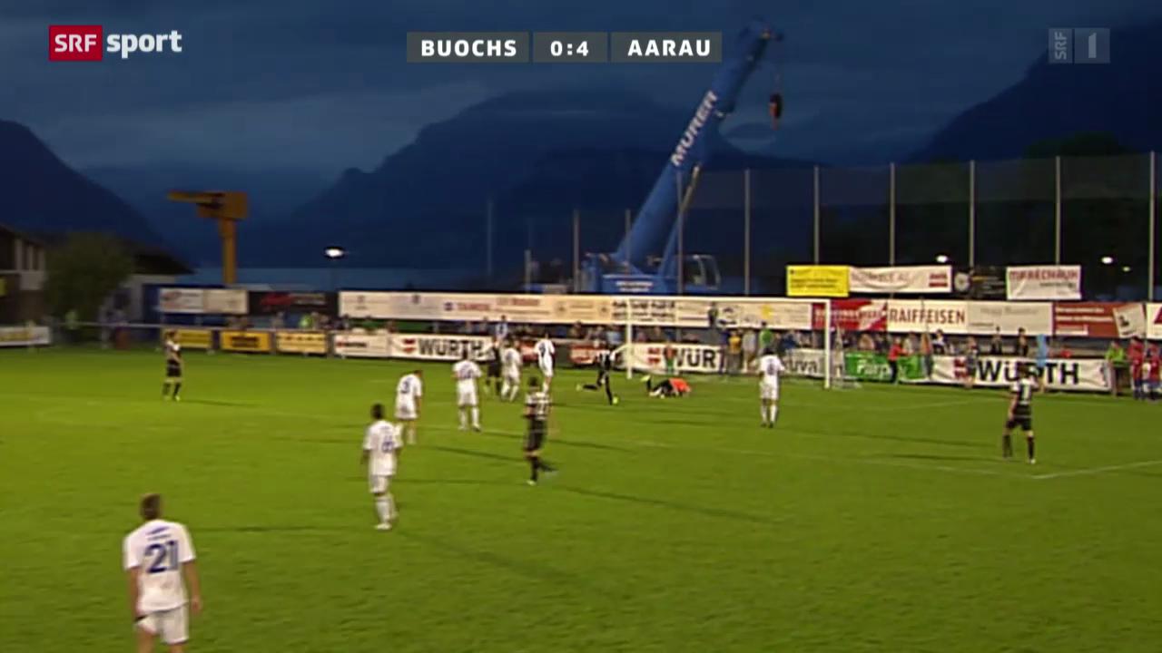 Cup: Buochs-Aarau