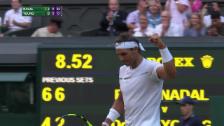 Video «Nadal gegen Young ungefährdet» abspielen
