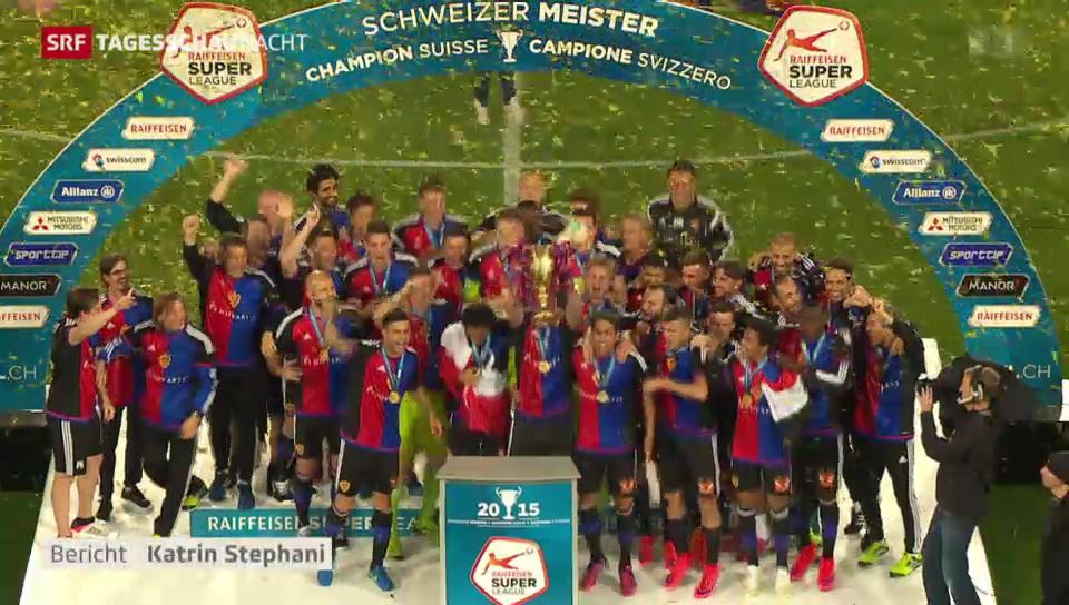 FCB feiert Meisterschaft