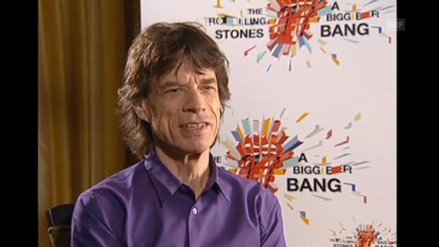 Video «Mick Jagger über persönliche Highlights» abspielen