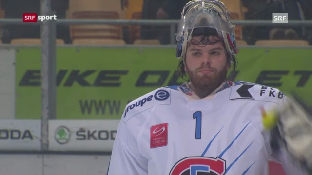 Eishockey: Lugano - Fribourg (Beitrag «sportaktuell»)