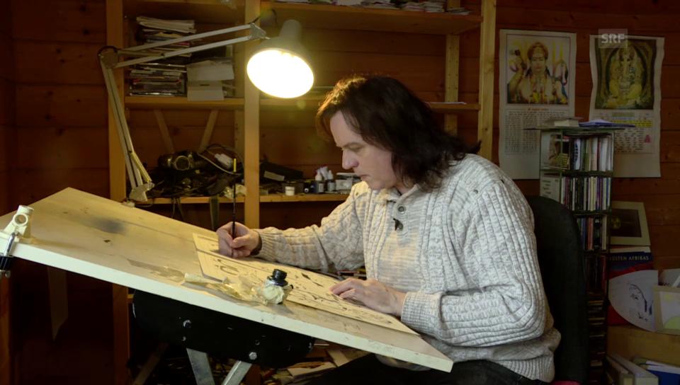 David Boller - Der Superhelden-Zeichner