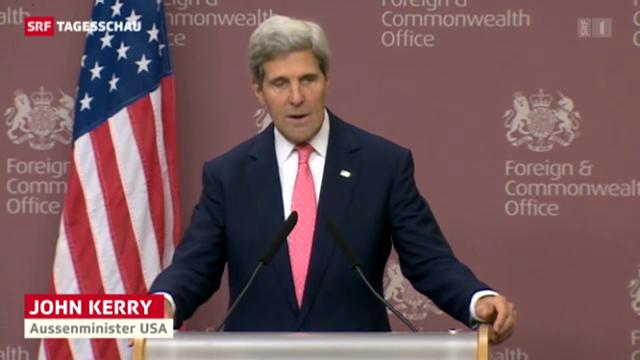 John Kerrys Worte zur Übergabe der Chemiewaffen