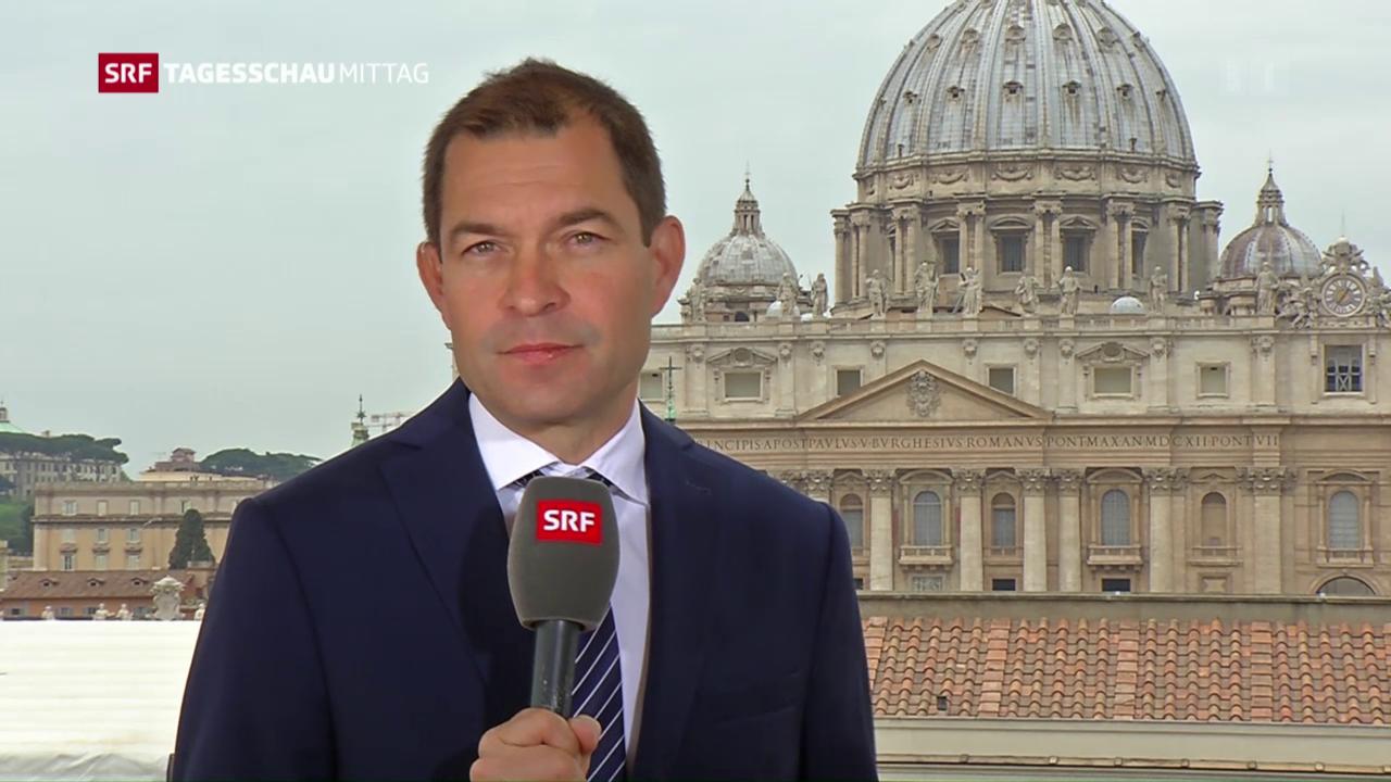 SRF-Korrespondent Philipp Zahn: «Der Papst findet neue Worte»
