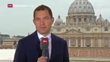 Video «SRF-Korrespondent Philipp Zahn: «Der Papst findet neue Worte»» abspielen
