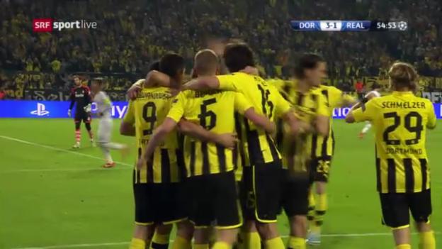 Video «Die 4 Tore von Lewandowski» abspielen