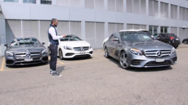 Video «So funktioniert der Mercedes-Parkpilot» abspielen