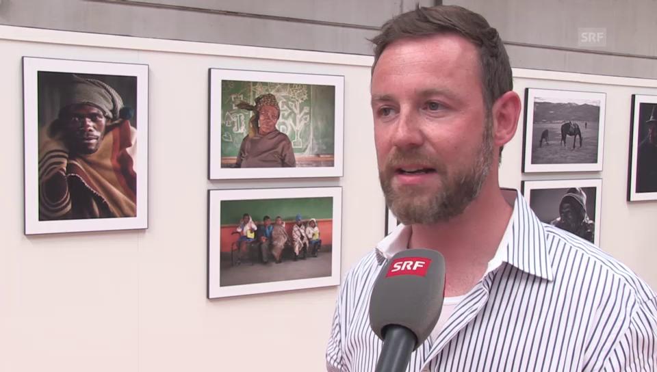 Vernissage: Nik Hartmann fotografiert in Afrika