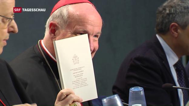 Video «Neue Töne aus dem Vatikan» abspielen