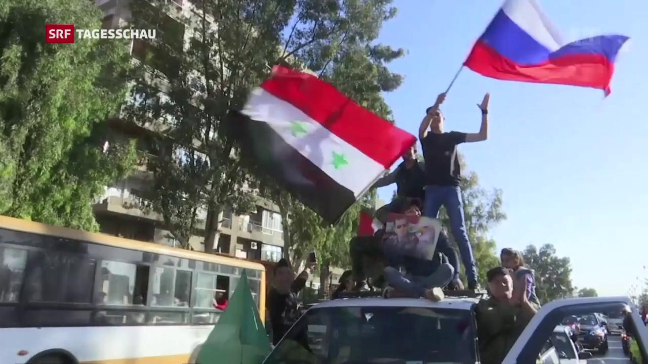 Westlicher Angriff auf Syrien und die Reaktionen