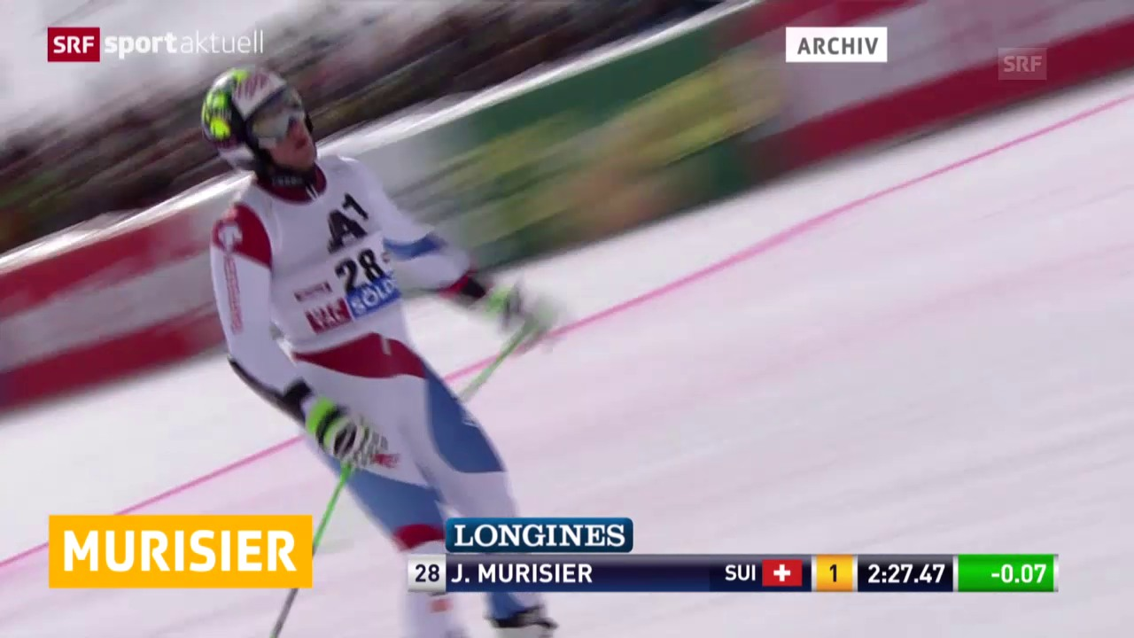 Ski: Murisier fällt aus («sportaktuell»)
