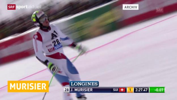 Video «Ski: Murisier fällt aus («sportaktuell»)» abspielen