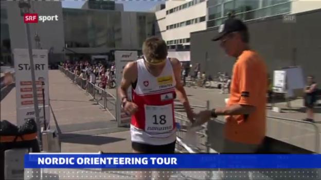 Video «Starke Schweizer OL-Läufer in Turku («sportaktuell»)» abspielen