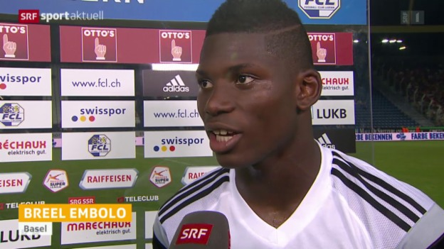 Video «Fussball: SL, Stimmen Luzern - Basel» abspielen