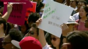 Video «Ausgangssperre in Baltimore aufgehoben» abspielen