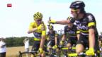 Video «Froome gibt sich vor Tour de France zurückhaltend» abspielen