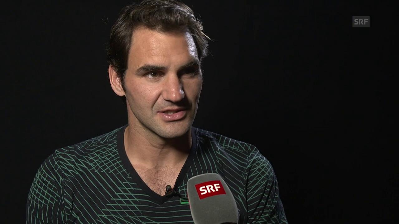 Federer: «Überrascht, dass er nicht mehr dagegenhalten konnte»