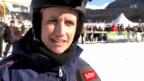 Video «Steffi Buchli und Renato Tosio messen sich im Ski-Jöring» abspielen