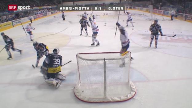 Video «Spielbericht Ambri - Kloten («sportaktuell»)» abspielen
