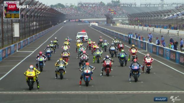 Video «Motorrad: GP von Indianapolis» abspielen