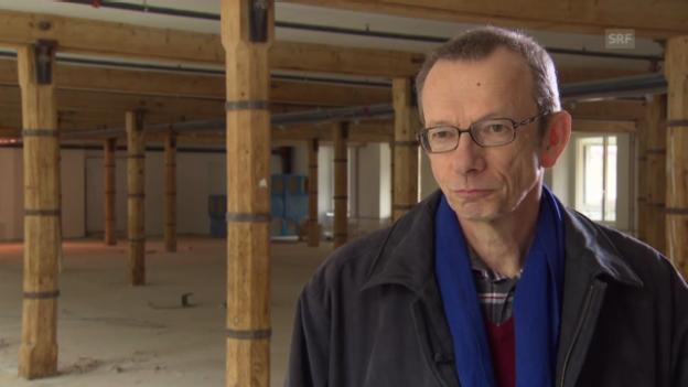 Video «Wie waren Arbeitsbedingungen damals? Historiker Adrian Knoepfli» abspielen