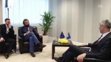 Video «Thaçi zu einem Spezialgerichtshof» abspielen