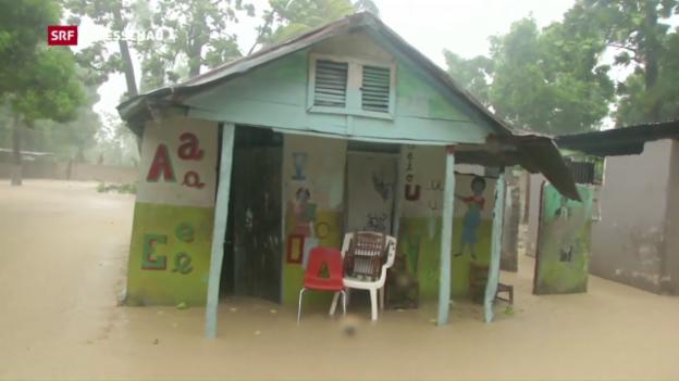 Video «Hurrikan «Matthew» bringt Tod und Zerstörung» abspielen