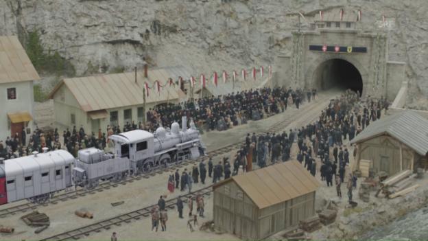 Video «Die Special Effects in «Gotthard»» abspielen