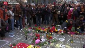 Video «Schweigeminute in ganz Belgien» abspielen