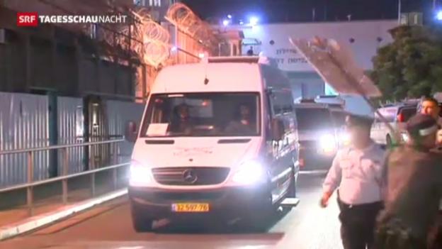 Video «Israel lässt Palästinenser frei» abspielen