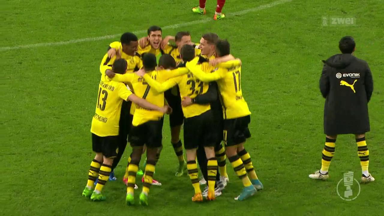 BVB eliminiert Bayern im DFB-Pokal