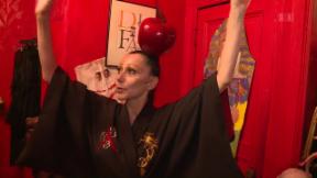 Video «Susanne Bartsch: Partynudel in New York» abspielen