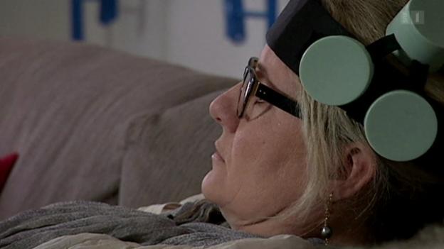 Video «Elektromagnetischer Helm gegen Depressionen» abspielen