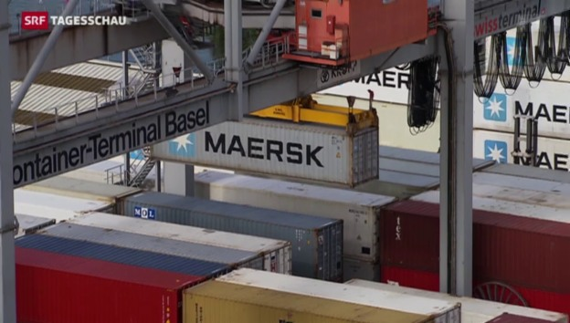 Video «Starker Franken drückt auf Exporte» abspielen