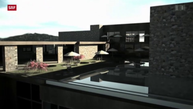 Video «Luxusresort kämpft wegen Frankenstärke» abspielen