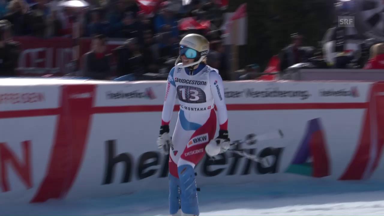 Der Slalom von Michelle Gisin