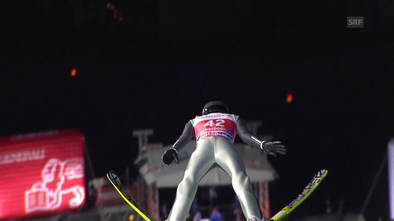 Skispringen: Vierschanzentournee, Quali-Sprung von Deschwanden in Oberstdorf