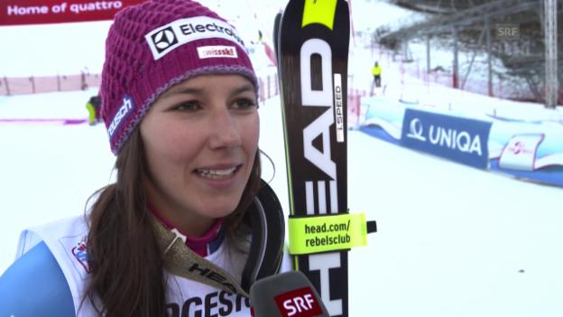 Video «Ski Alpin: Interview mit Wendy Holdener» abspielen